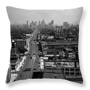 Detroit 1942 Throw Pillow
