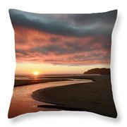 Devils Kitchen Sunset Throw Pillow