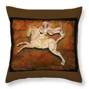 Diana The Huntress Throw Pillow