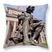 Diego Velazquez Throw Pillow