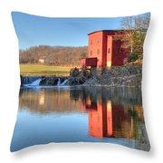 Dillard Mill Throw Pillow
