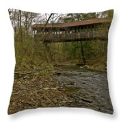 Dingleton Hill Bridge Throw Pillow