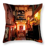 Dinks Taxi 1 Throw Pillow