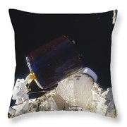 Discovery Spacewalk Throw Pillow