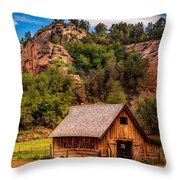 Disney Barn Throw Pillow