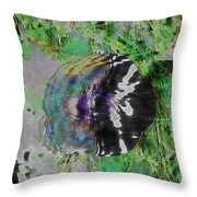 Dissociation Throw Pillow