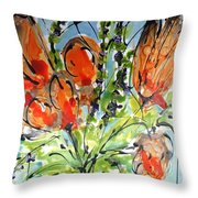 Divine Blooms-21197 Throw Pillow