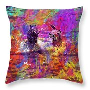 Dog Puppy Pet Animal Cute Canine  Throw Pillow