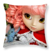 Doll Throw Pillow