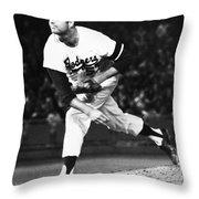 Don Drysdale (1936-1993) Throw Pillow