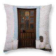 Door No 1 Throw Pillow