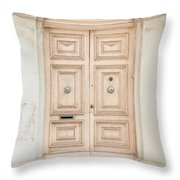 Doors Of The World 71 Throw Pillow