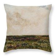 Dorset Landscape Throw Pillow