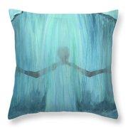 Downpour Throw Pillow