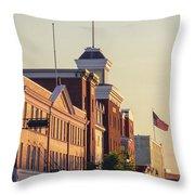 Downtown Beloit Throw Pillow