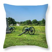 Dows 6th Maine Battery Throw Pillow