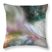 Dragon At The Ego Gate Throw Pillow