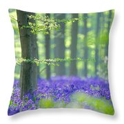 Dream Forest Throw Pillow