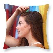 Dream Of A Woman Throw Pillow