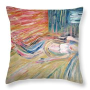 Dream Woman Throw Pillow