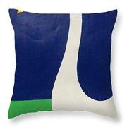 1 Duck Throw Pillow