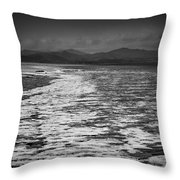 Duddon Estuary  Throw Pillow
