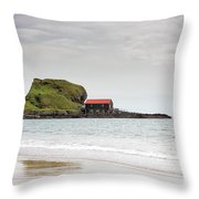 Dunaverty Bay Throw Pillow