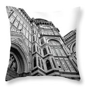 Duomo De Florencia Throw Pillow
