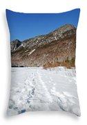 Eagle Cliff  - White Mountains New Hampshire Usa Throw Pillow