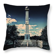 East Cavalry Field Throw Pillow