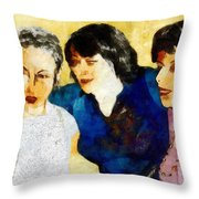 Eastwick Revisited Throw Pillow