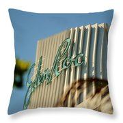 Eden Roc Hotel Miami Beach Throw Pillow