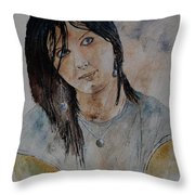 Eglantine 564 Throw Pillow