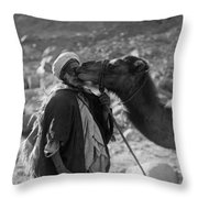 Egypt: Traveler Throw Pillow