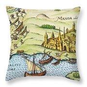 El Dorado, 1599 Throw Pillow