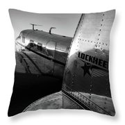 Electra Daybreak Throw Pillow