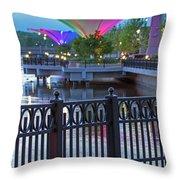 Elgin Festival Park Throw Pillow