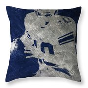 Eli Manning Giants Throw Pillow
