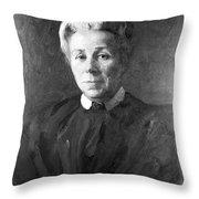 Elizabeth Garrett Anderson, English Throw Pillow