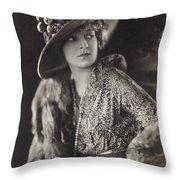 Elsie Janis (1889-1956) Throw Pillow