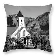 Elvis Chapel Arizona Throw Pillow