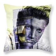 Elvis Presley Sun Studio Collection Throw Pillow