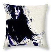 Elyse Taylor Throw Pillow