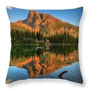 Emerald Lake - Yoho National Park Throw Pillow