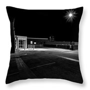 Empty Spaces Throw Pillow