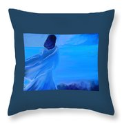 En Attente Throw Pillow