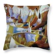 Enchanting Steel Pan Throw Pillow