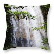 Erawan National Park Throw Pillow