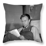 Ernest Lawrence, American Physicist Throw Pillow