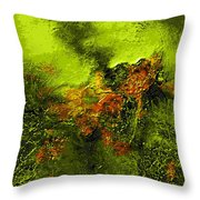 eruption II Throw Pillow